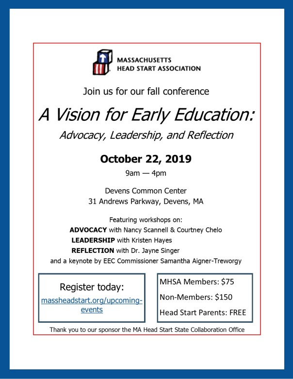MHSA Fall Conference Flyer