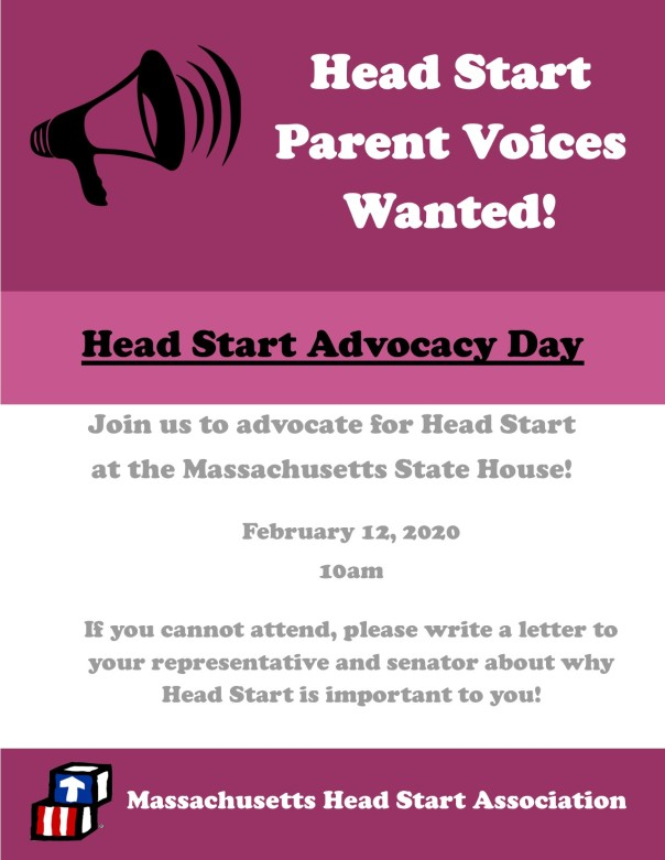 Advocacy Day parent flyer